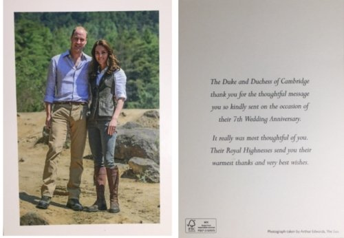 william and kate wedding anniversary
