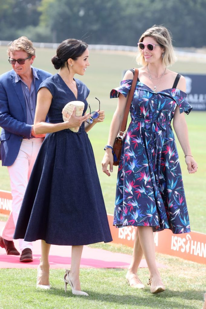 Meghan Markle with Delfina Figueras