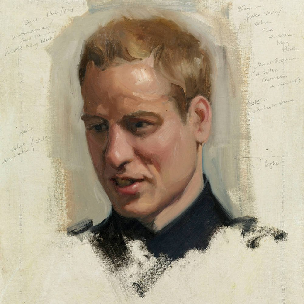 Nicky Philipps royal portraits