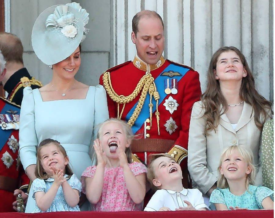 Princess Charlotte Savannah Phillips Prince George and Isla Phillips
