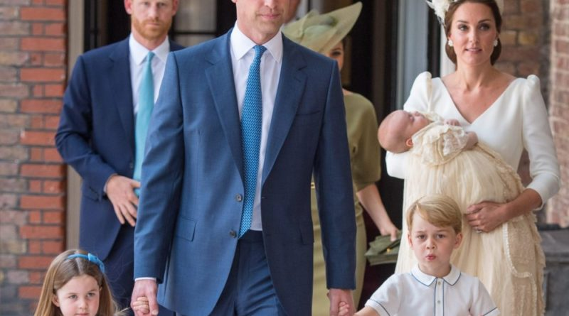 george charlotte louis william kate