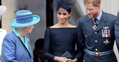 harry meghan the queen