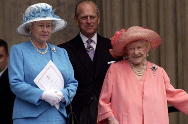 queen queen's mother philip