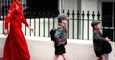 Prince William first day in school