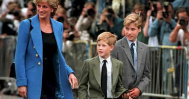 Diana and her boys