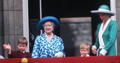 harry william queen mother