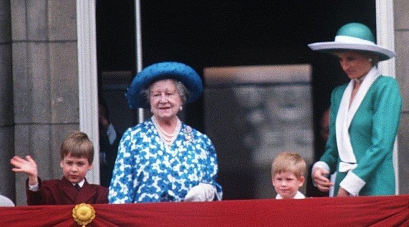 harry william queen mother