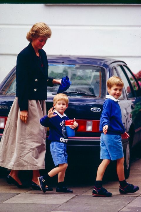 Photos of Prince William and Prince Harry's Childhood
