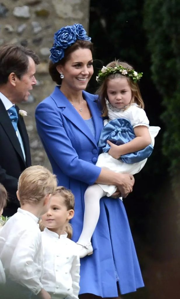 Kate and Princess Charlotte