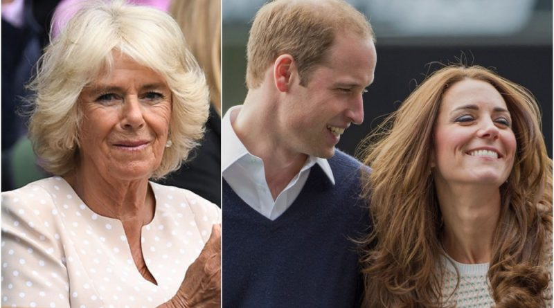 camilla william kate