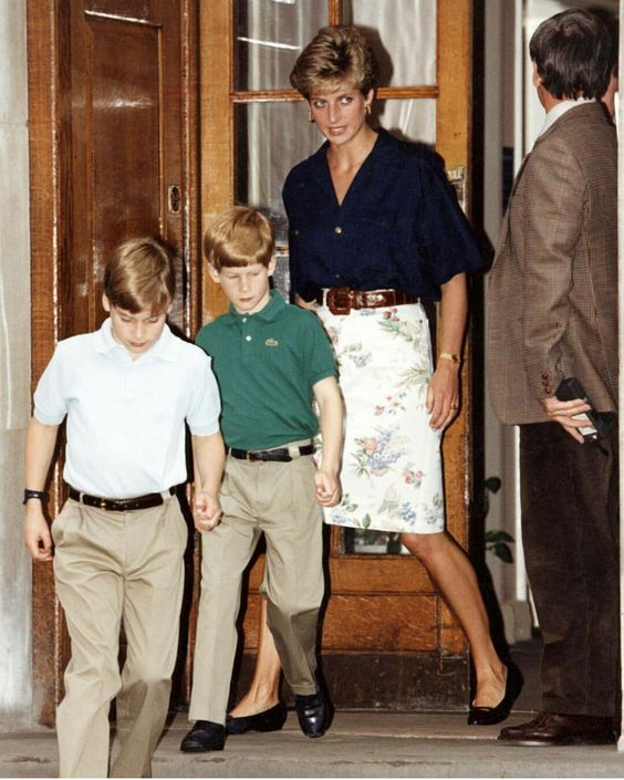 diana harry william
