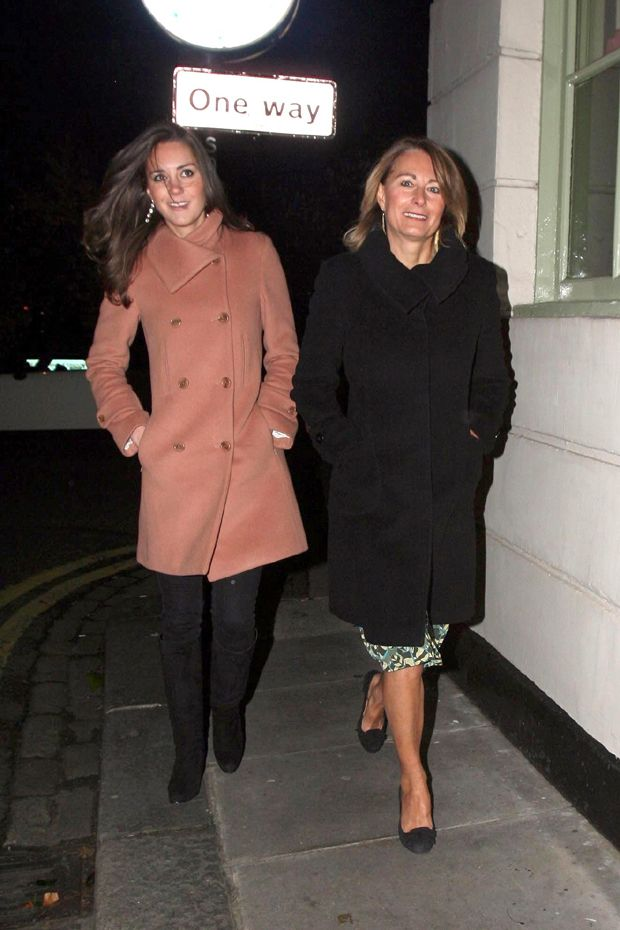 kate middleton and his mother