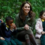 Kate Midleton was visiting the Forest School in Paddington