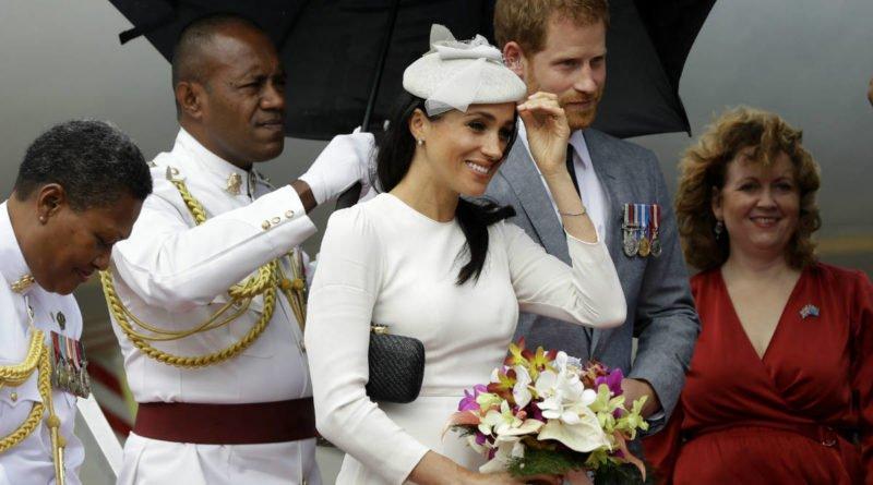 Meghan Markle Arrives in Fiji for Royal Tour