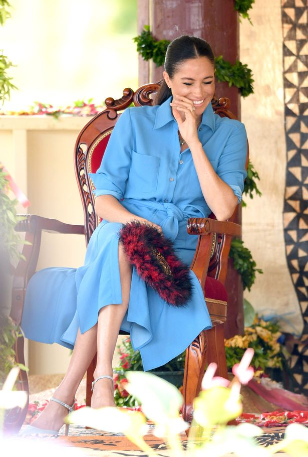 Meghan Markle Visit Tonga