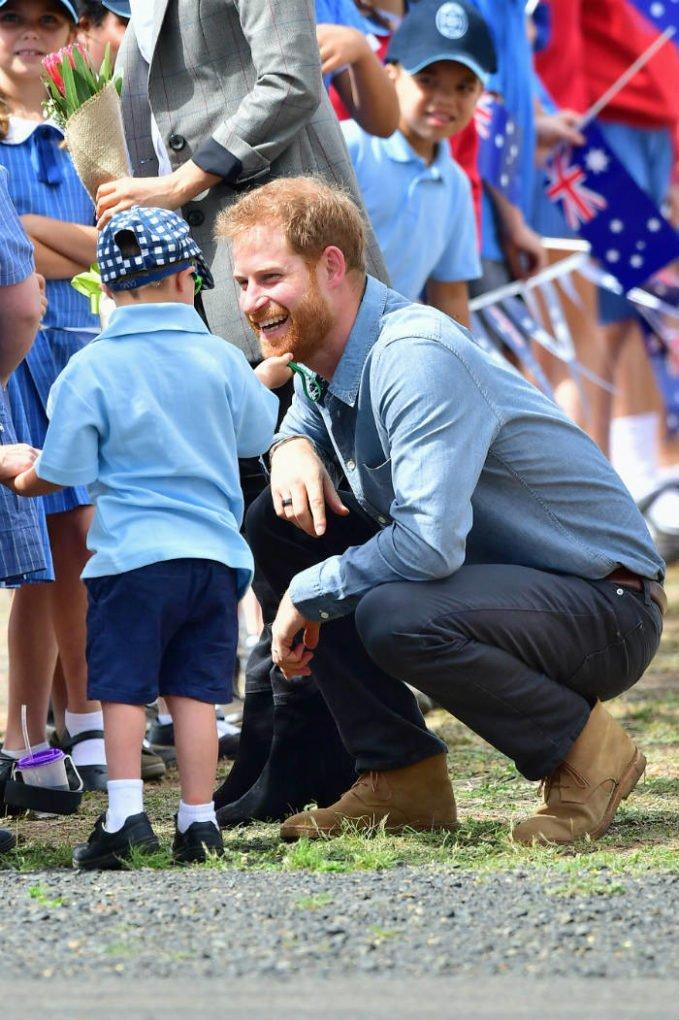 Prince Harry Tour 2018