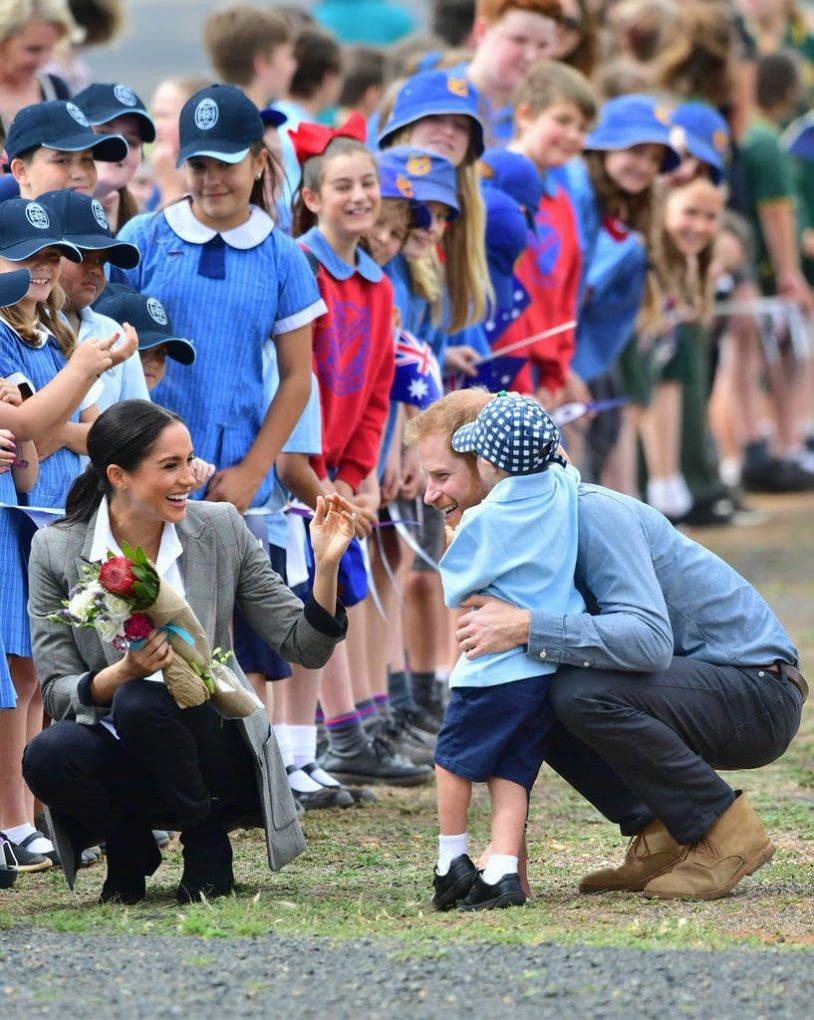 Prince Harry and Meghan Markle Australia Tour 2018