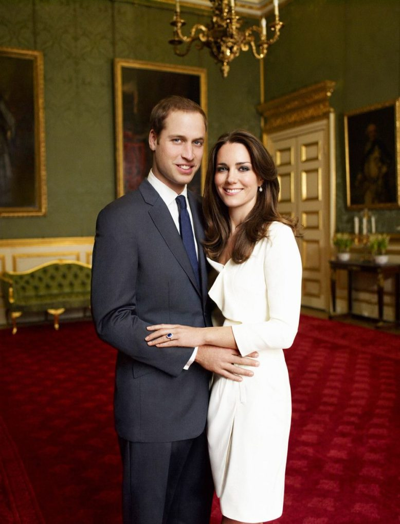 William and Kate engagment photo