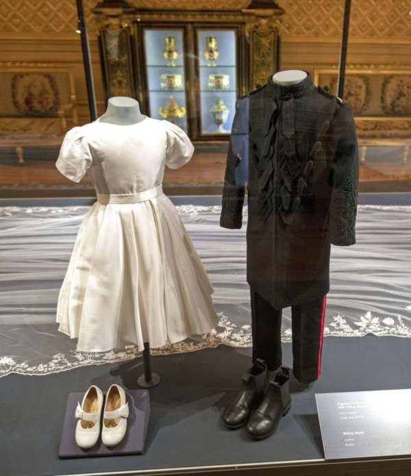 george and charlotte wedding outfit