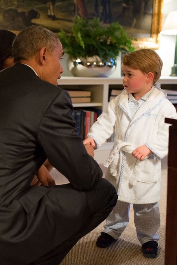 george and obama