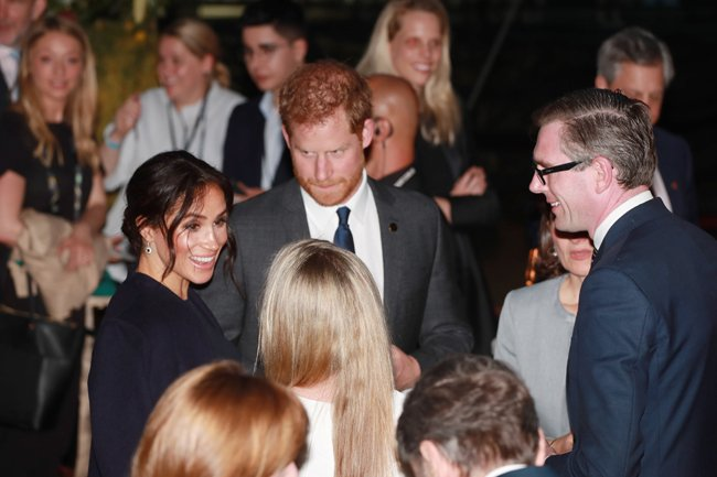 meghan and harry at invictus opening ceremony