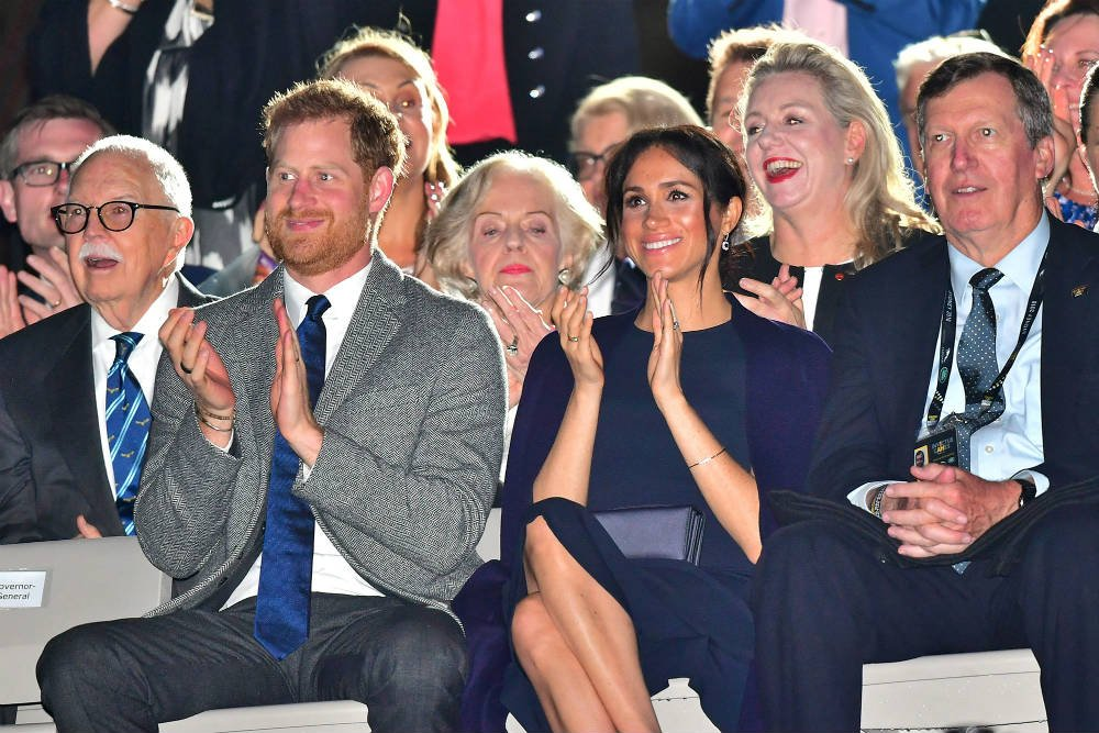 meghan and harry at invictus