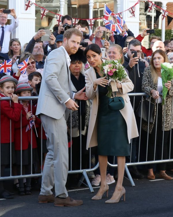 meghan and harry visit sussex