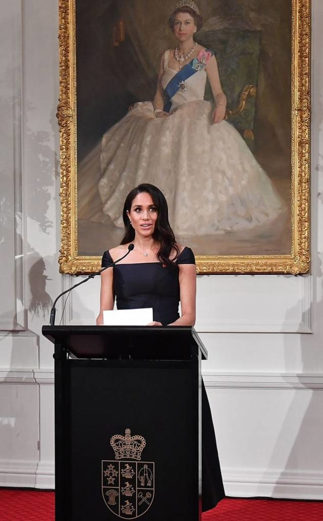 meghan markle speech in new zealand
