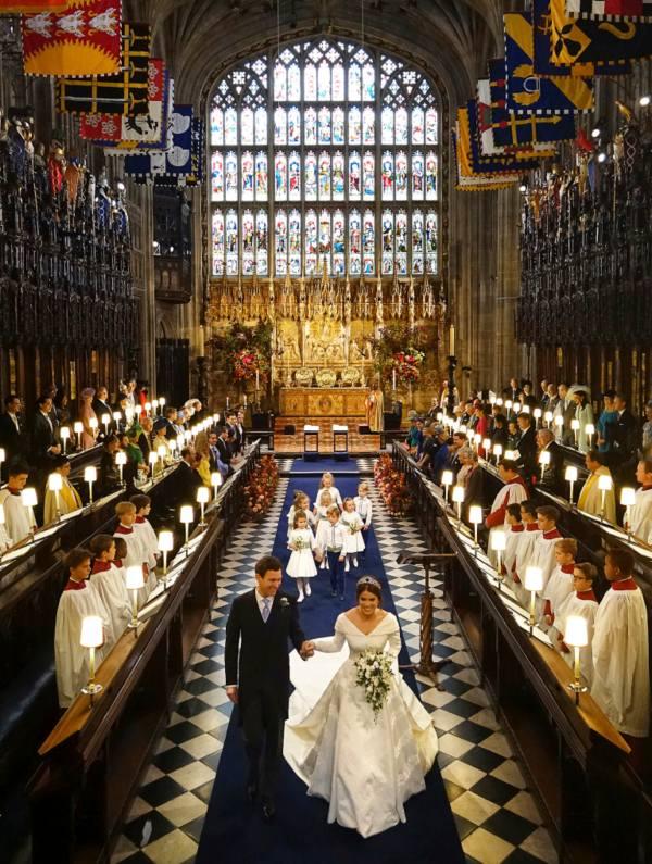 Princess Eugenie and Jack's Wedding