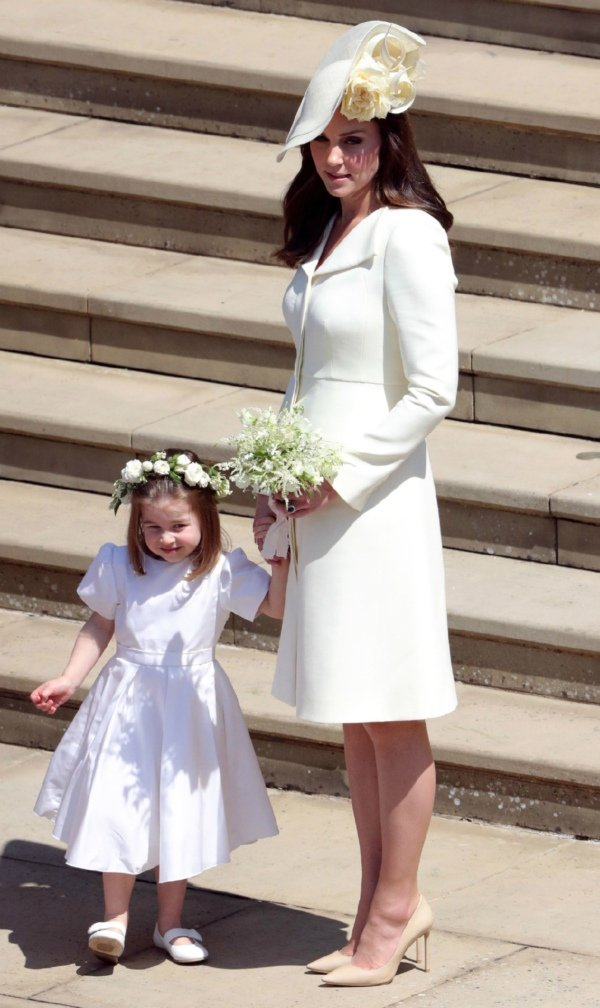 Charlotte and Kate at royal wedding