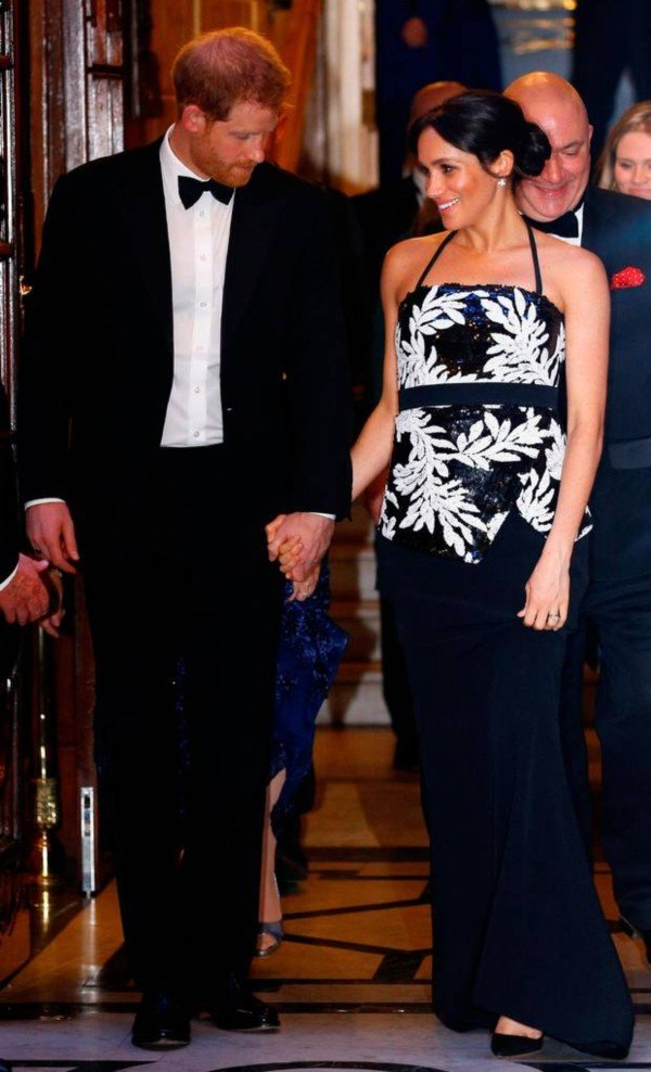 Harry and Meghan attending Royal variety performance