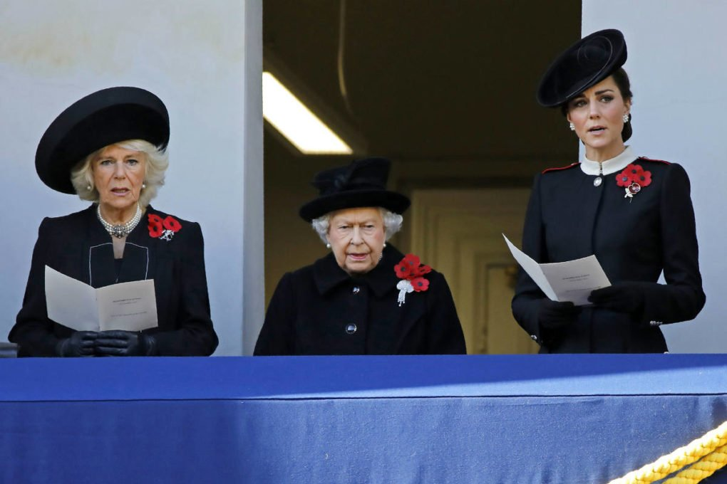 Kate Camilla and Queen