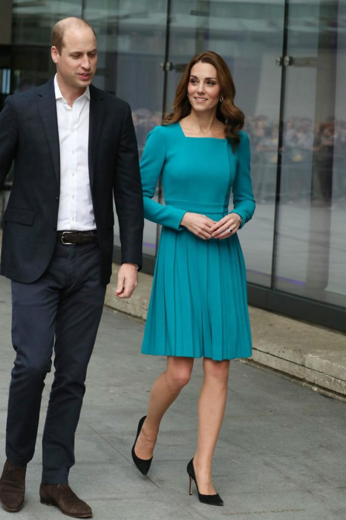 Kate and William at the BBC