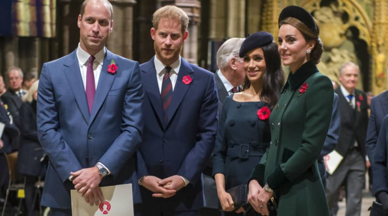 Meghan Markle Kate Middleton Prince William & Prince Harry