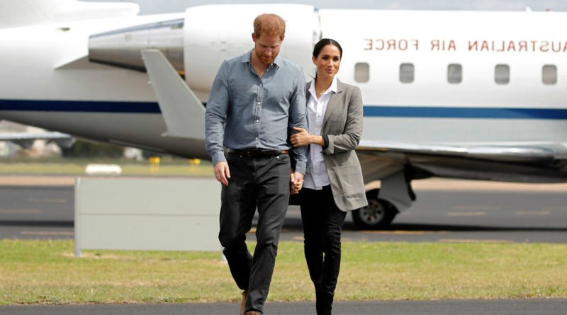 Harry Fights Jet Lag With This Unusual Item: It's A Trick From Meghan's Book