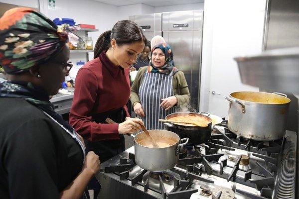Meghan visited Hubb Community Kitchen