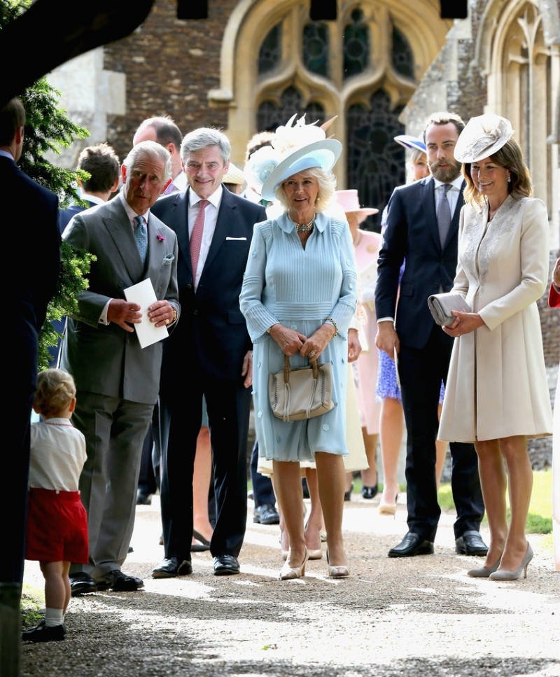 Prince Charles - The Christening of Princess Charlotte of Cambridg