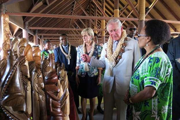 Prince Charles in Vanuatu