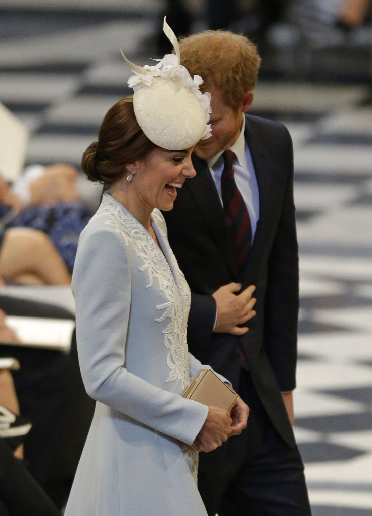 Prince Harry and Kate Midldeton