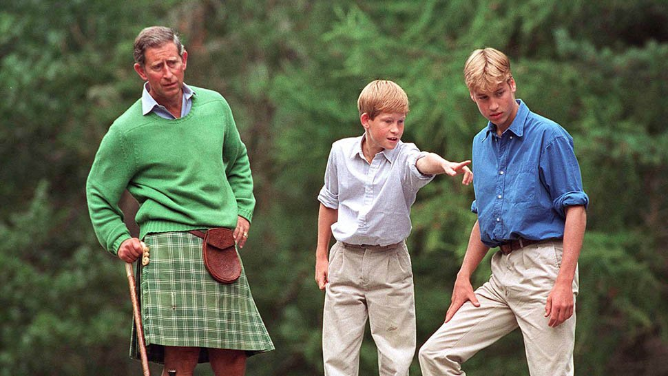 Prince Harry and Prince William Reveal the Strange Habit They Inherited from Prince Charles