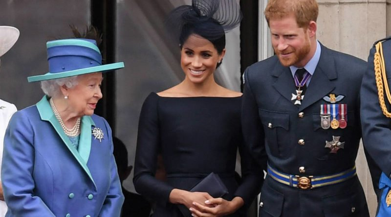 Queen Elizabeth Meghan Markle and Prince Harry