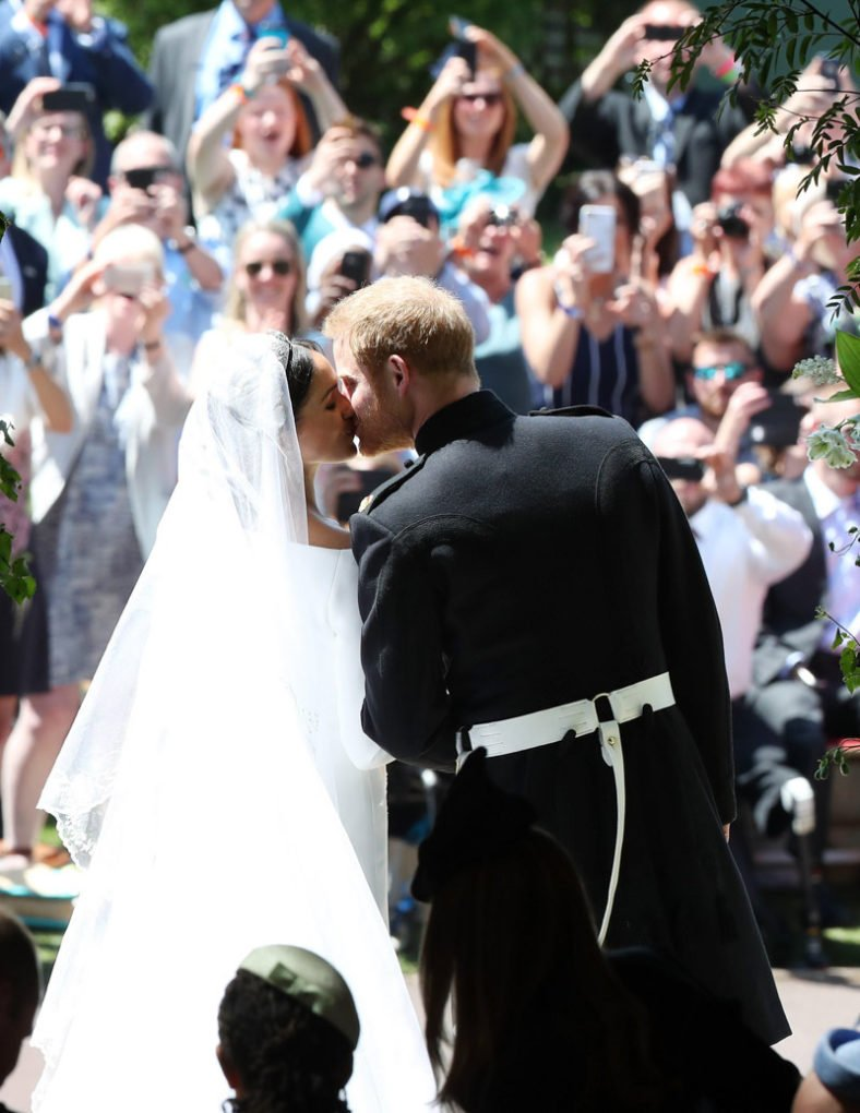 The wedding of Prince Harry and Meghan Markle,