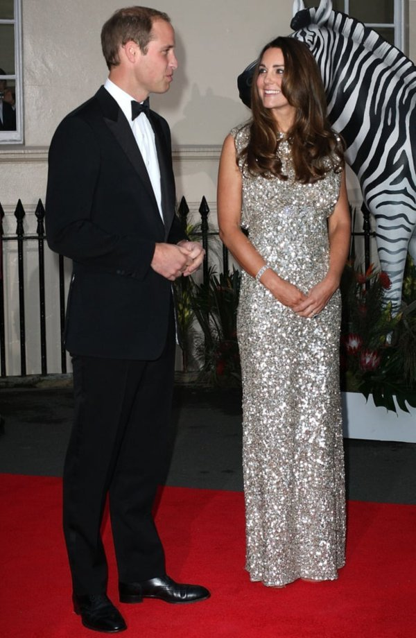 William and Catherine attending the annual Tusk Conservation Awards in 2013