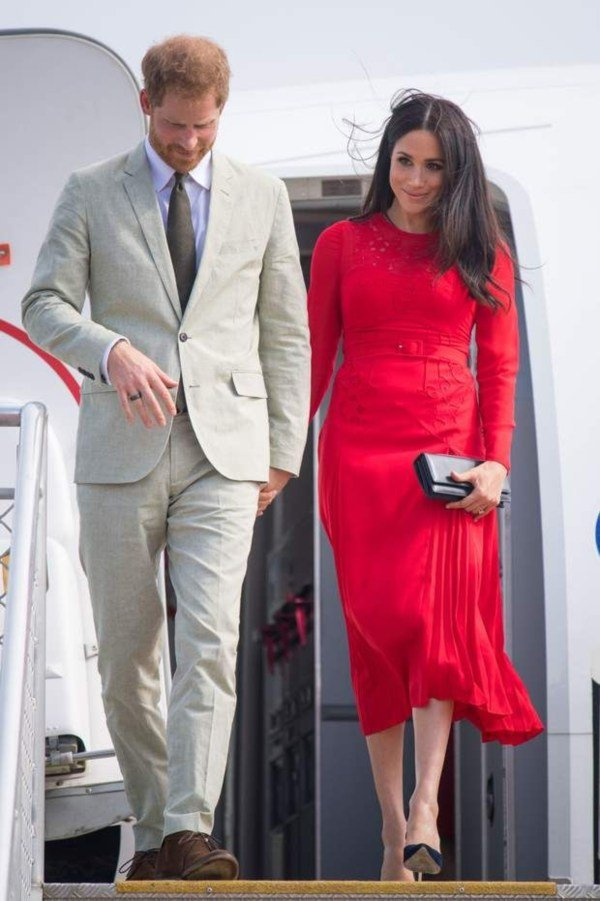harry and meghan In Rome