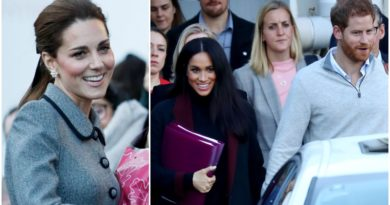 Kate Opens About Meghan's Baby in Leicester