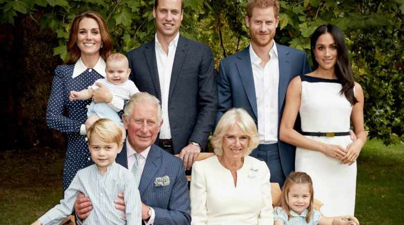 prince charles birthday family portrait