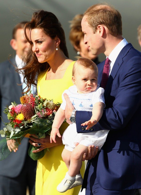 Prince George in Australia