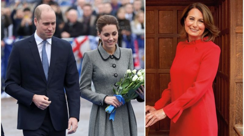 Carole Middleton close relationship with Prince William