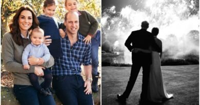 William and Harry Christmas card