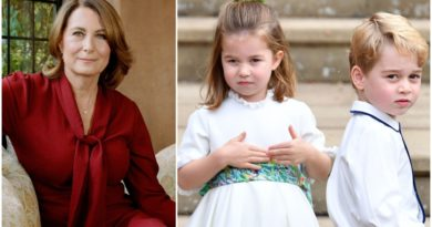 George And Charlotte Have Adorable Christmas Tradition With Grandma Carole